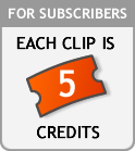For subscribers each clip is 5 credits