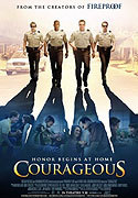 """Courageous"" movie clips poster"