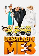 """Despicable Me 3"" movie clips poster"