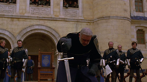 never surrender movie clip from first knight at