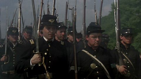 portrayal of civil war in the movie glory Extracts from this document introduction glory tells the story of the 54th regiment of massachusetts volunteer infantry in the united states civil war.
