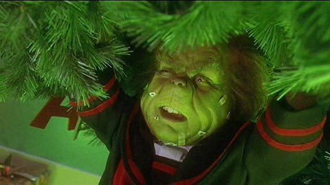 Sexual jokes in the grinch