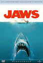 """Jaws"" movie clips poster"