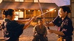 "Watch the movie clip ""A Samurai Story"" from ""Little Boy"""