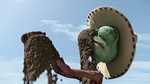 "Watch the movie clip ""Time Of Deliverance"" from ""Rango"""