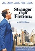 """Stranger Than Fiction"" movie clips poster"