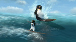 "Watch the movie clip ""Having Fun"" from ""Surf's Up"""
