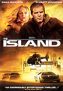 """The Island"" movie clips poster"
