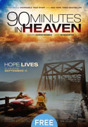 """90 Minutes In Heaven"" movie clips poster"