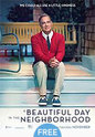 """A Beautiful Day In The Neighborhood"" movie clips poster"