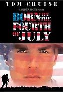 """Born On The Fourth Of July"" movie clips poster"
