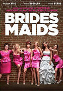 """Bridesmaids"" movie clips poster"