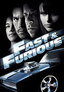 """Fast & Furious"" movie clips poster"