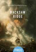 """Hacksaw Ridge"" movie clips poster"