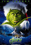 """How The Grinch Stole Christmas"" movie clips poster"