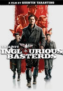 """Inglorious Basterds"" movie clips poster"