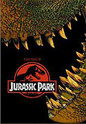"""Jurassic Park"" movie clips poster"