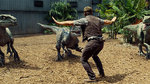 "Watch the movie clip ""Raptor Cage"" from ""Jurassic World"""