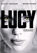 """Lucy"" movie clips poster"