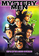 """Mystery Men"" movie clips poster"
