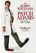 """Patch Adams"" movie clips poster"