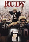 """Rudy"" movie clips poster"