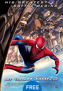 """The Amazing Spider-Man 2"" movie clips poster"