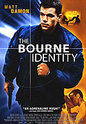 """The Bourne Identity"" movie clips poster"