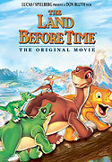 """The Land Before Time"" movie clips poster"